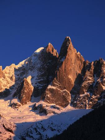 Les Drus, Mont Blanc Massif, Chamonix, Haute Savoie, French Alps, France, Europe