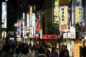 Shinjuku, central Tokyo, Japan, Asia by David Pickford