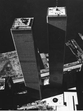 World Trade Center 1973 by David Pickoff