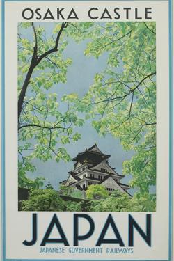 Osaka Castle Japan Poster by David Pollack