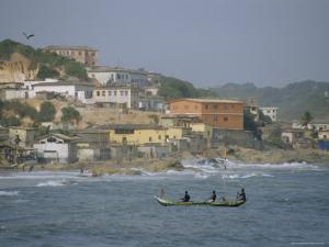 Cape Coast, Ghana, Africa by David Poole
