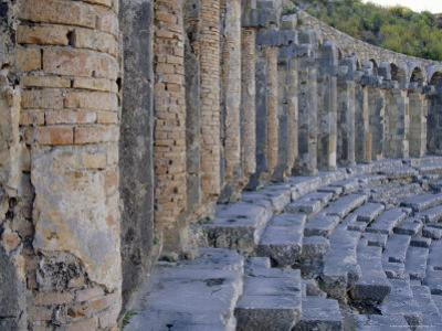 Roman Theater, Aspendos, Turkey, Eurasia by David Poole