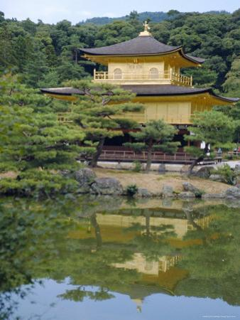 Temple of the Golden Pavilion, Kyoto, Japan by David Poole