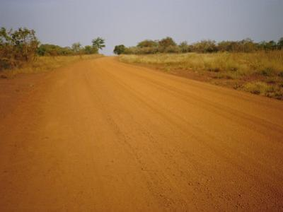 The Main Road from Cameroun to the Capital Bangui, Central African Republic, Africa by David Poole