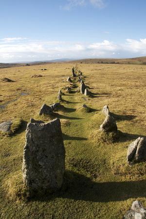Prehistoric Ceremonial Lines of Stones