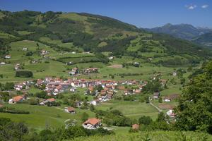 Basque Countryside Near Bilbao, Biscay, Spain by David R. Frazier