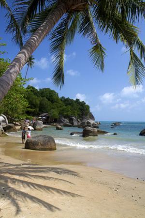 Beach, Gulf of Thailand on the Island of Ko Samui, Thailand