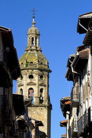 Church of Santiago El Mayor Bell Tower, Puente La Reina, Spain