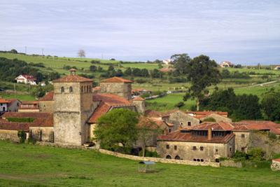 Church of the Colegiata at Santillana Del Mar, Cantabria, Spain