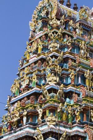 Hindu Temple in (Rangoon) Yangon, (Burma) Myanmar