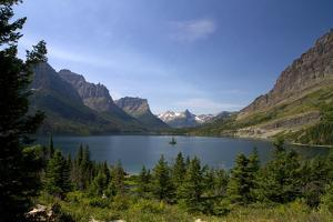 Saint Mary Lake in Glacier National Park, Montana, USA by David R. Frazier