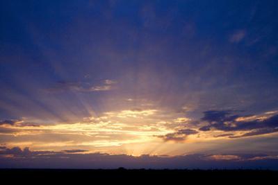 Sunset Near Burley, Idaho, USA