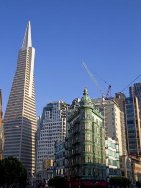 Transamerica Pyramid Skyscraper in San Francisco, California, USA by David R. Frazier
