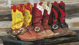 Ranch Boots by David R. Stoecklein