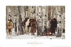 Warming Up by David R. Stoecklein