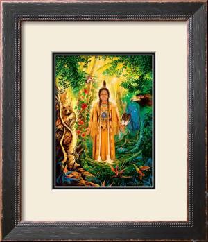 Divine Grandmother by David Rico