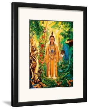 Native American Divine Grandmother by David Rico