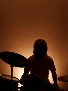 Drummer by David Ridley