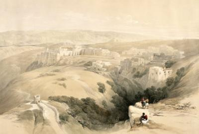 Bethlehem, April 6th 1839, Plate 85 from Volume II of The Holy Land, Engraved by Louis Haghe by David Roberts