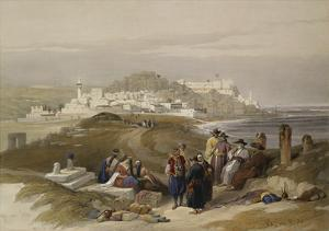 Jaffa, Ancient Joppa. from 'The Holy Land, Syria, Idumea, Arabia, Egypt and Nubia' by David Roberts