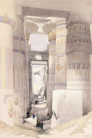 Karnac, 27th November 1838, 1842-1849 by David Roberts