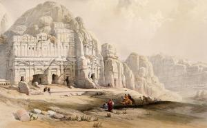 Petra, March 8th, 1839 by David Roberts