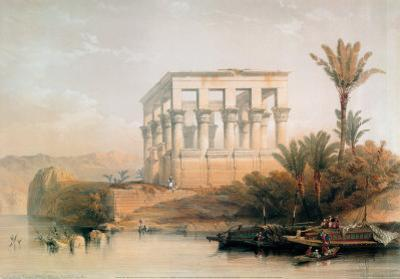Philae Temple by David Roberts