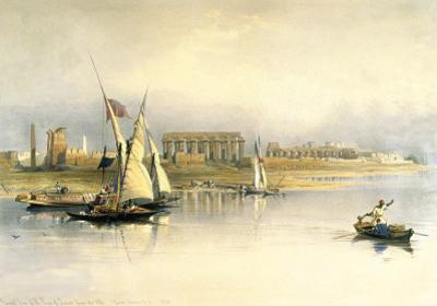 Ruins Opf Luxor by David Roberts