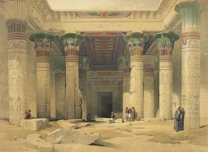 Temple of Philae by David Roberts