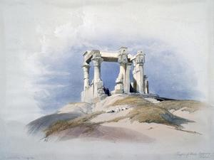 Temple of Wady Kardassy, Nubia, 19th Century by David Roberts
