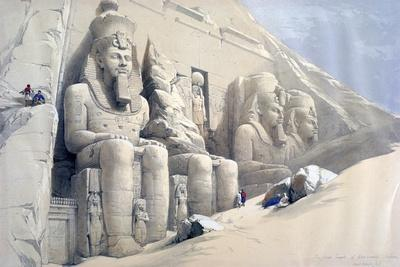 The Great Temple of Abu Simbel, Nubia, C19th Century