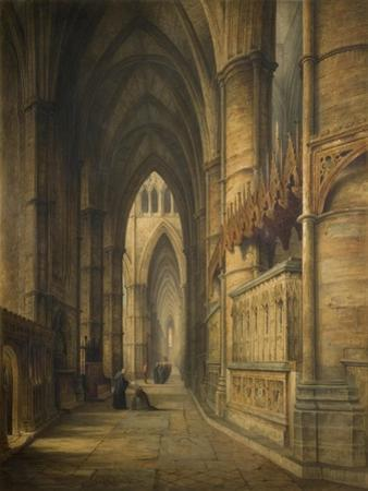The Tomb of Edward Iii, Westminster Abbey by David Roberts