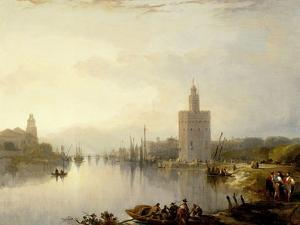 The Torre De Oro, 1833 by David Roberts