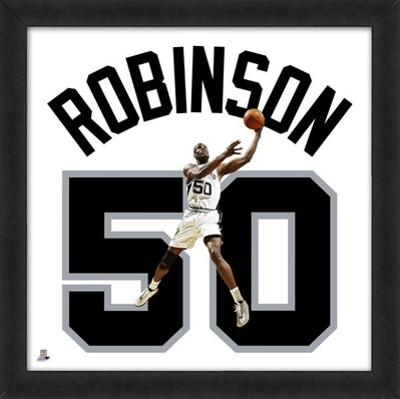 David Robinson, Spurs photographic representation of the player's jersey