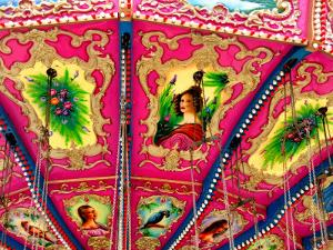 Inside Ceiling Detail of Carousel by David Ryan