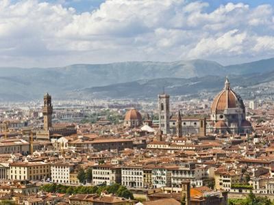 Florence Italy, skyline