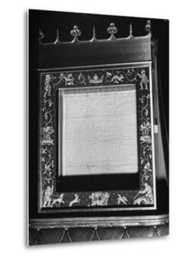 Magna Carta by David Scherman