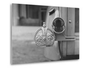 The Duke of Windsor Has No License Plate, Only a Royal Crown Emblem by David Scherman