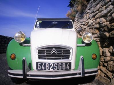 Citroen Car, Provence, France