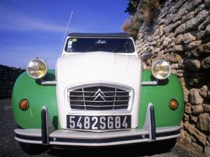 Citroen Car, Provence, France by David Scott