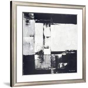 Circles on Black and White I by David Sedalia
