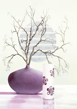 Purple Inspiration II by David Sedalia