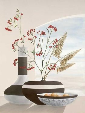 Rowan Berries I by David Sedalia