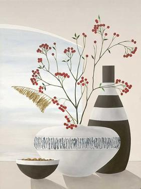 Rowan Berries II by David Sedalia