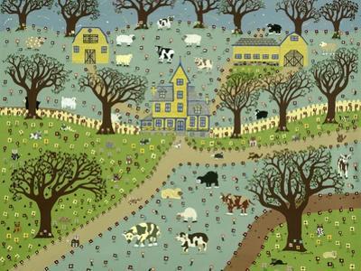 New England Farm by David Sheskin
