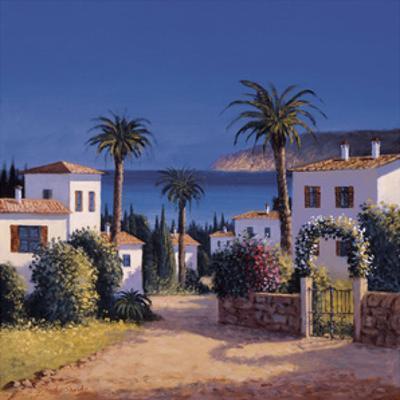 Mediterranean Morning Shadows II by David Short