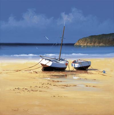 Moorings Low Tide by David Short