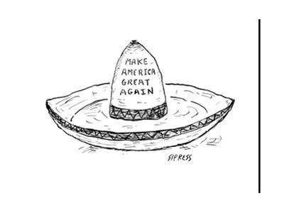 """Make America Great Again."" - Cartoon"