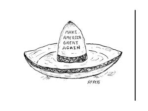 """Make America Great Again."" - Cartoon by David Sipress"