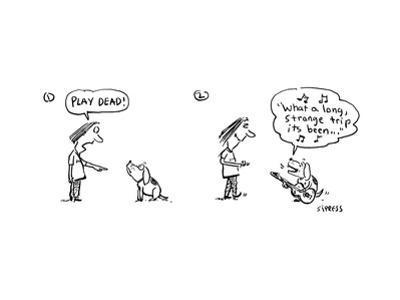 """""""Play Dead!"""" - Cartoon"""